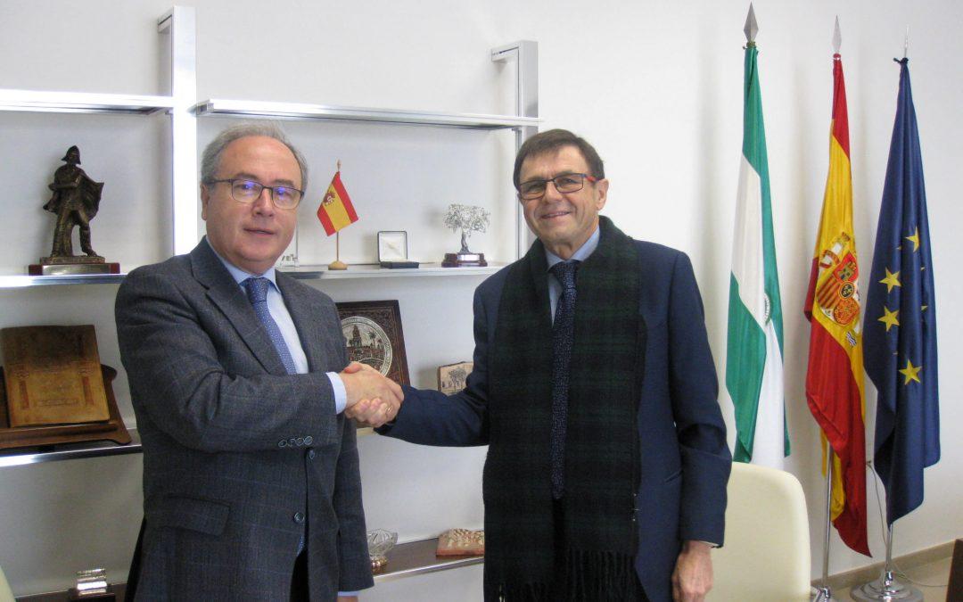 Firma del convenio de adhesión como asociado de OFISUR a la CECO