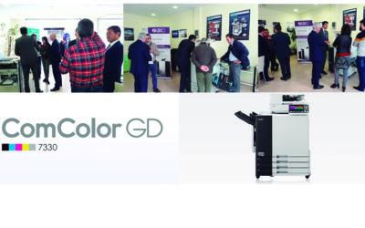 Nueva presentación en Ofisur SL, la nueva ComColor GD 7330!
